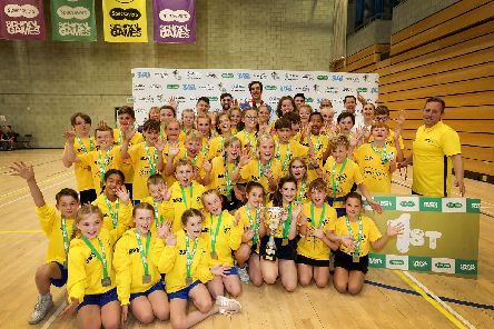 The Southern Sharks at the school games