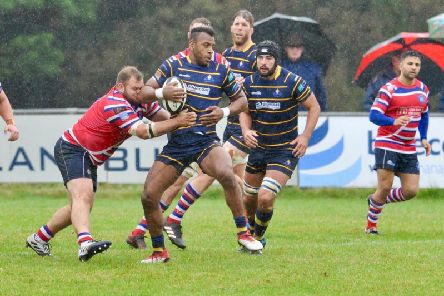 Kiba Richards in action against Juddians. Picture by Stephen Goodger