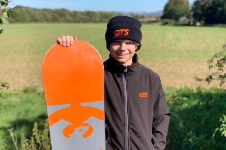 Steyning's Charlie Lane will benefit from a sponsorship deal as he joins QTS Groups successful Youth Athlete Programme.