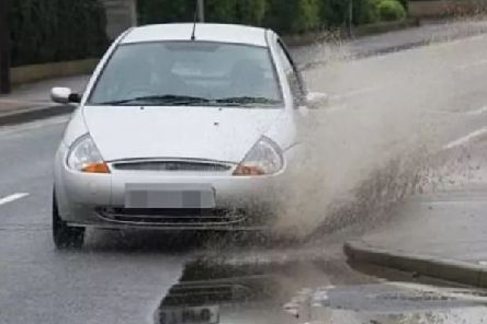 Driving through a puddle could cost you 5,000
