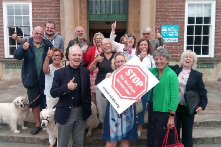 Campaigners were delighted when plans were rejected by West Sussex County Council last year