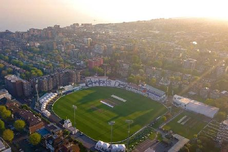 The 1st Central County Ground from above / Picture by Hugo Healy