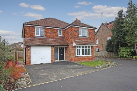 This four bedroom detached family home in Horsham is on the market for �725,000 from Woodlands Estates
