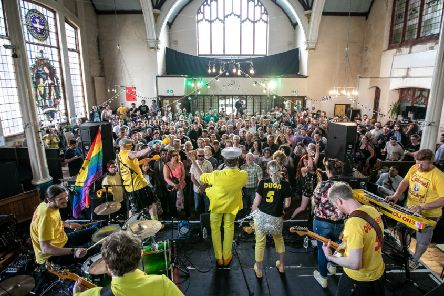 Colonel Mustard and the Dijon 5 at the Great Escape 2018 - Photo by Victor Franchowski