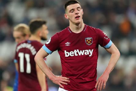 Declan Rice (Photo by Catherine Ivill/Getty Images)