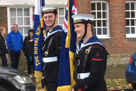 Horsham Sea Cadets have moved location to a new location in Horsham town centre SUS-190515-151849001