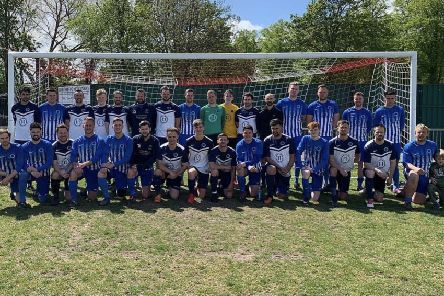 Watersfield remebered club stalwalt Bob Dingle in an annual charity match