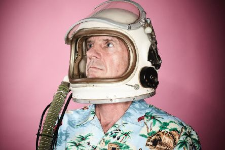 Norman Cook, aka Fatboy Slim, performs in Brighton on Monday
