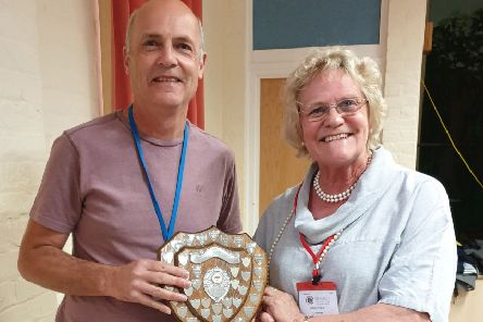 Peter Merrick succeeded in winning Print of the Year Division 1