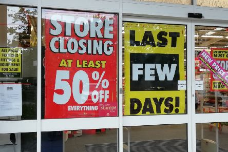 Office Outlet is set to close in Horsham town centre