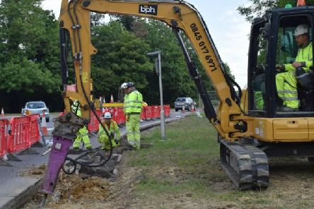 Works have begun on the 'main phase' of the scheme