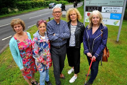 Businesses at and around Borde Hill Garden, Haywards Heath are concerned about the imminent temporary road closure