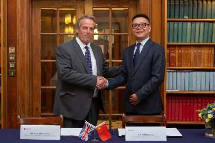 Adrian Lajtha and Wang Shu sign new deal for Cranleigh China partnership