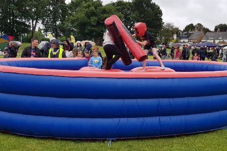The fun day saw hundreds of visitors