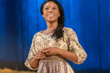 Amara Okereke as Laurey. Photo by Johan Persson