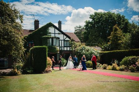 Cisswood House Hotel is a popular venue for weddings SUS-190820-122944001