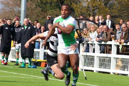 Horsham's Declan Nwachukwu. Picture courtesy of Richard Ordridge
