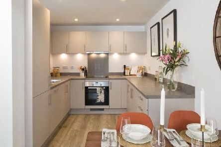 The Apex Apartments in Crawley