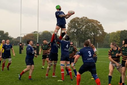 Cranleigh in action earlier in the season. Picture by Courtney Mahon