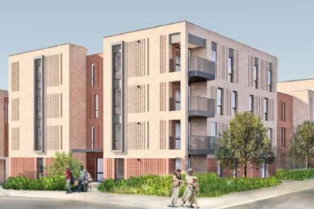 Redevelopment plans for Page Court, Horsham