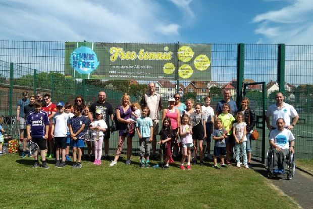 Anyone for tennis? Free summer sessions return to Egerton Park