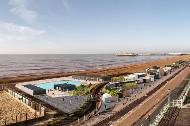 Fresh Plans For Swimming Pool On Brighton Seafront Brighton And Hove Independent