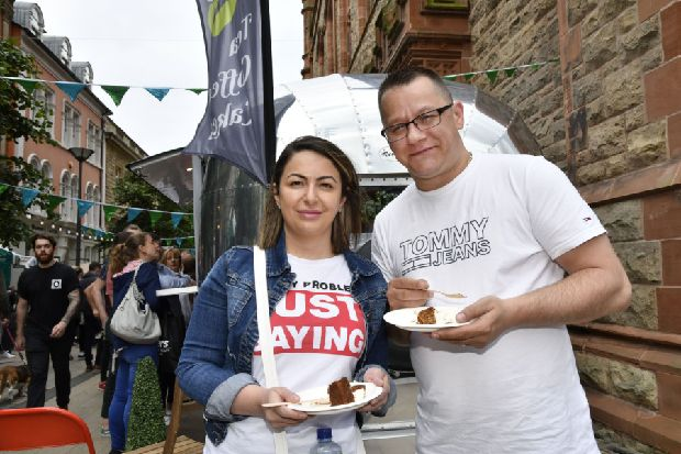 Over 20,000 attend first Derry Street Food Festival