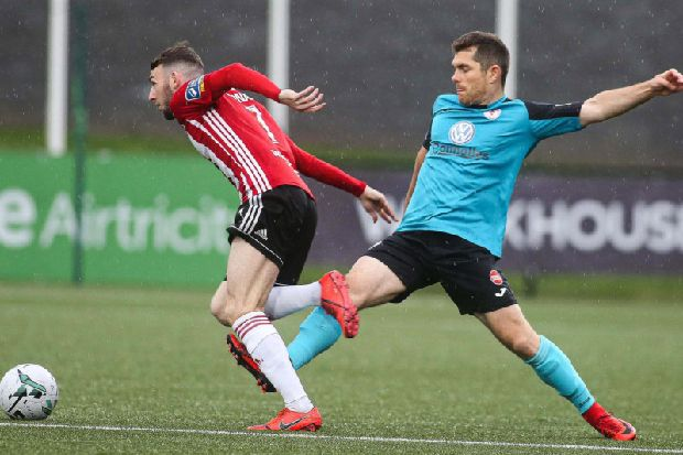 'We'll fight for everything': insists Derry City winger Jamie McDonagh