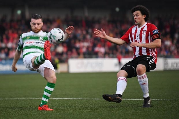 Derry City ready for Shamrock Rovers test