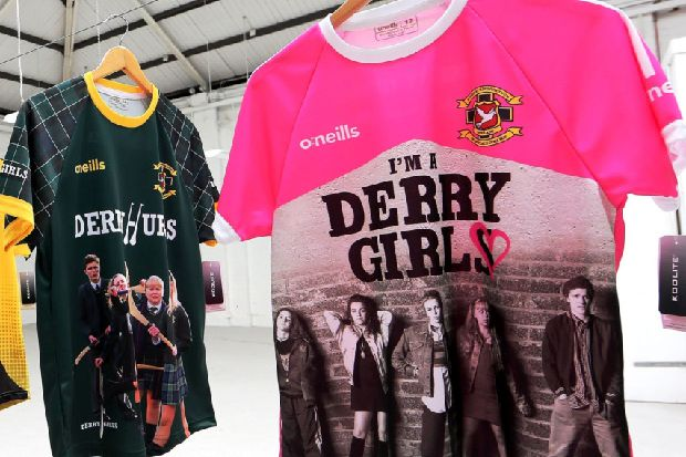 Derry Girls are helping O'Neills keep shirt factory tradition alive and well