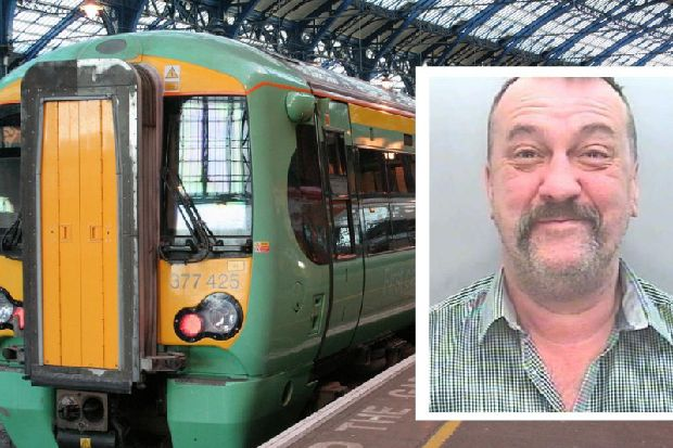 War veteran launched racist tirade on London Victoria to Eastbourne train and said he would 'kill everyone'