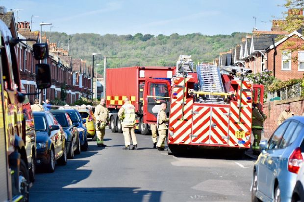 This is why an Eastbourne neighbourhood has been cordoned off