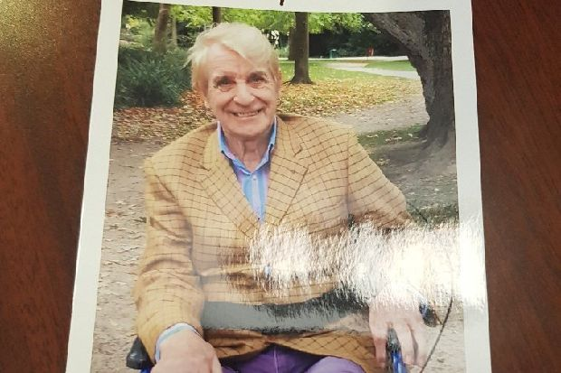 Pensioner with dementia missing in Hampden Park