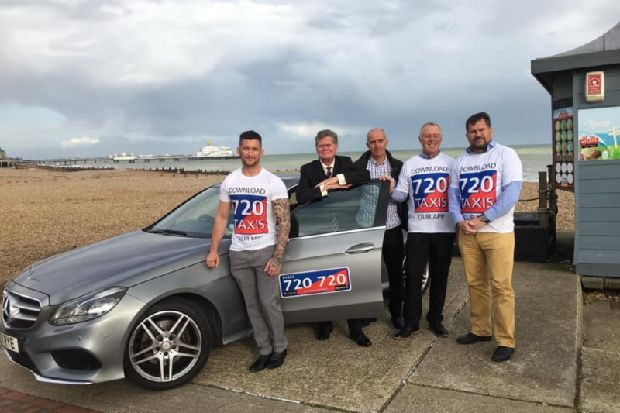 Eastbourne taxis can now be booked on this newly-launched app
