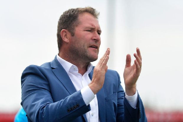 Eastbourne Borough part company with Lee Bradbury amid club's financial issues