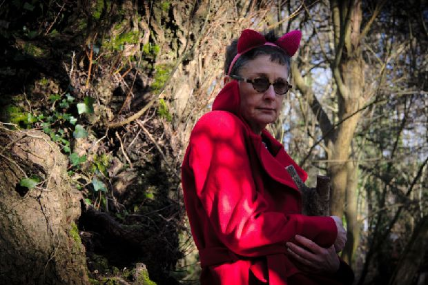 Red Riding Hood - she's older and wiser in St Leonards performance