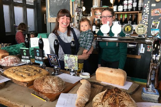 Crown pub in Hastings Old Town hosts local bake-off