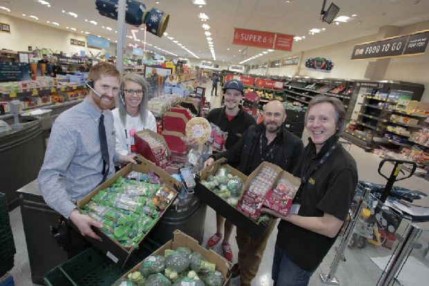Aldi to start donating surplus food to Hastings charities