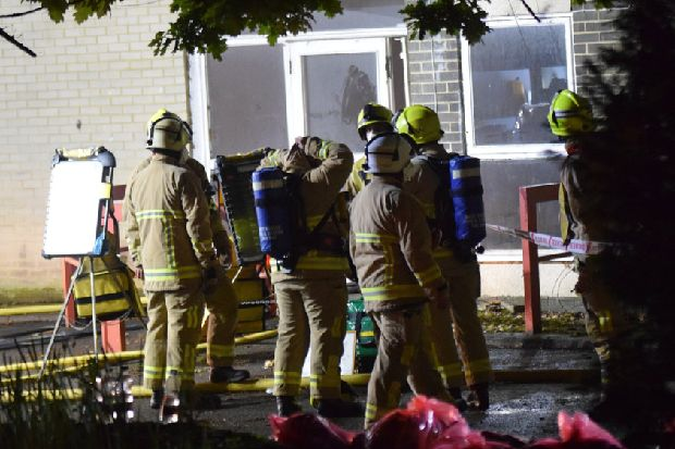 Fire at derelict Hastings care home is the second in ten days