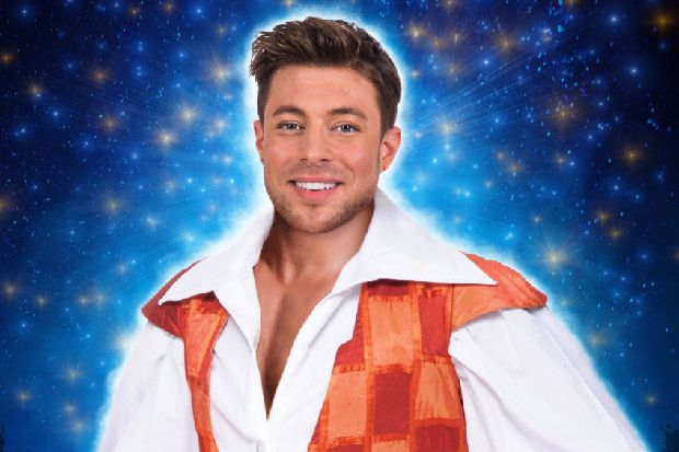 Duncan James is Aladdin in this year's White Rock Theatre panto