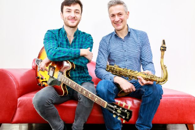 Dave O'Higgins and Rob Luft play for Jazz Hastings