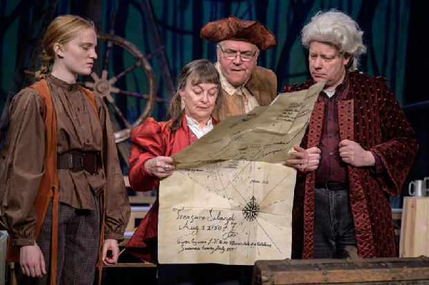 Treasure Island at Stables Theatre: Jim's dangerous voyage begins