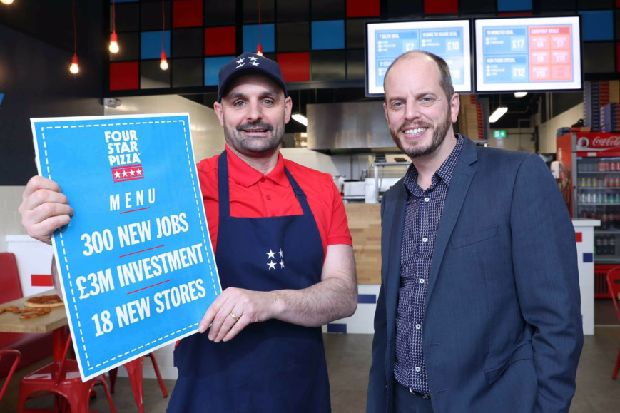 Four Star Pizza Is Coming To Lisburn Ulster Star