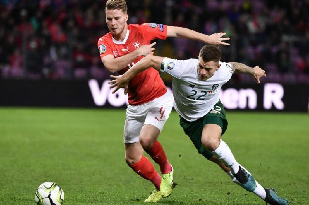 Collins an unused sub as Ireland fall just short against Denmark - Luton Today