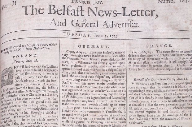 Reported On This Day 280 Years Ago (June 16 1739): Four of those injured in Tandragee loft collapse are now dead
