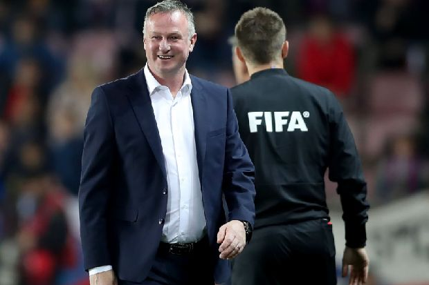 Pride for Michael O'Neill at landmark Northern Ireland win in Czech Republic