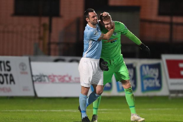 Ballymena United and Cliftonville march on in County Antrim Shield