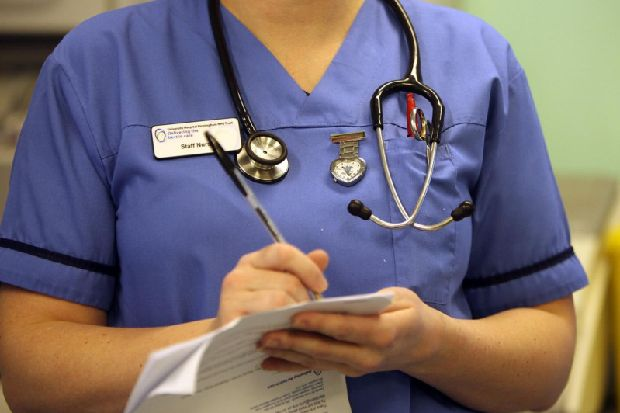 Nurses take industrial action in NI over pay