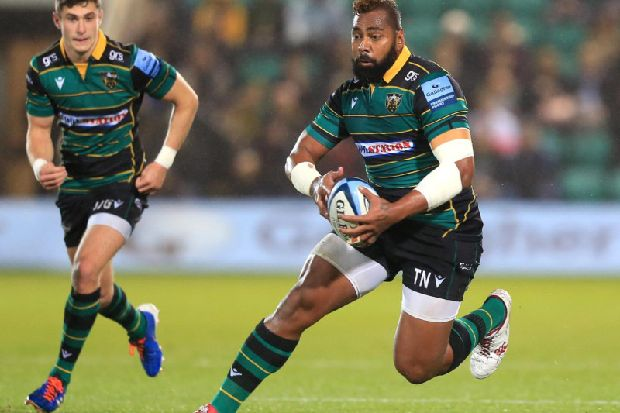 Saints wing Naiyaravoro ready for battle of the big guns - Northampton Chronicle and Echo