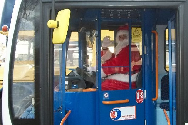 How Are Bus Services Changing Over Christmas And New Years